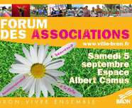 FORUM DES ASSOCIATIONS : SAMEDI 5/09/15
