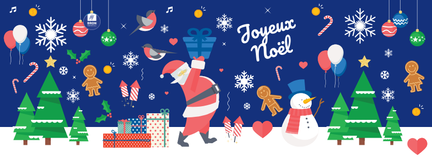 Image De Joyeux Noel 2019.Joyeux Noel Et Bonne Annee 2019 Bron Handball